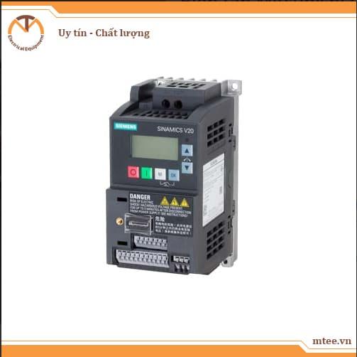 6SL3210-5BB13-7UV1 - Biến tần V20 1-phase 0.37kW